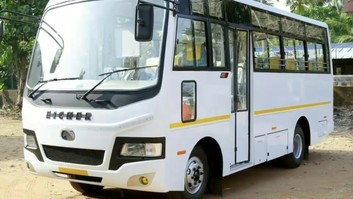 12 seater volvo bus Eicher